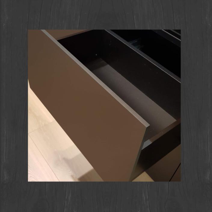 Nowość front meblowy, satynowy mat - płyta fenix Powłoka NANO, bezodciskowy
